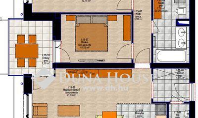 Eladó Lakás, Zala megye, Zalaegerszeg, I. emeleti 69 m2 lakás, 7 m2 terasszal