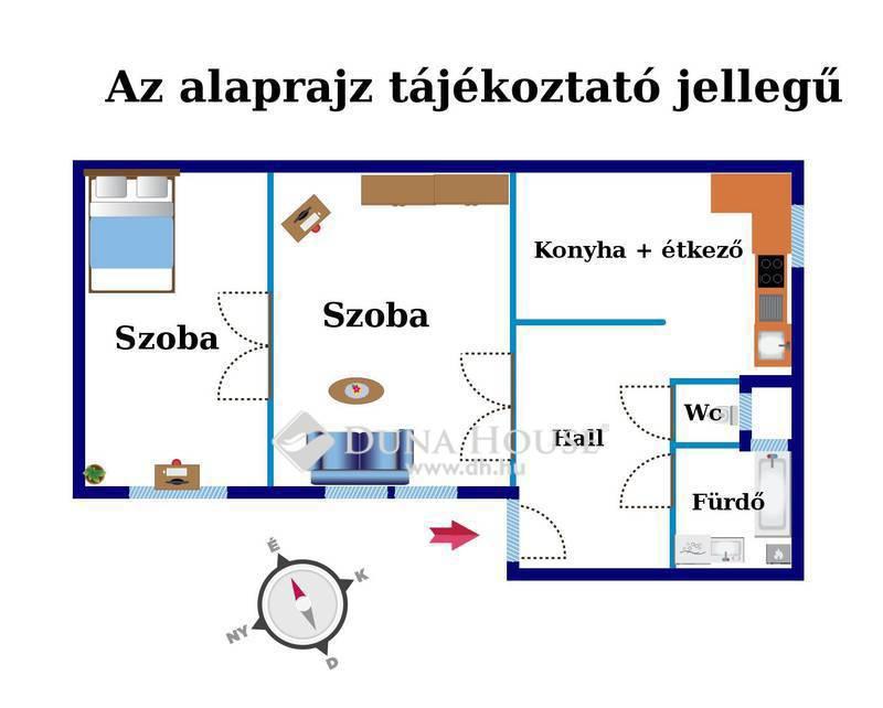 Eladó Lakás, Budapest, 6 kerület, Bajnok utca