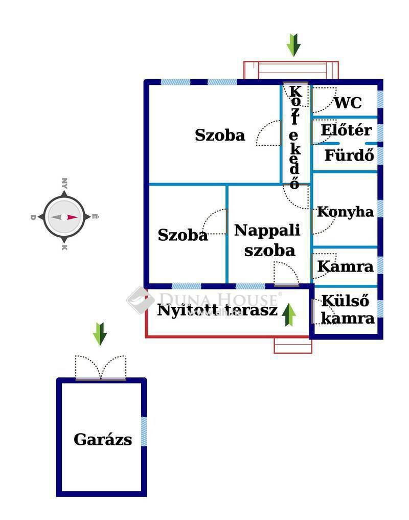 Eladó Ház, Csongrád megye, Csongrád, Központhoz 800 méter