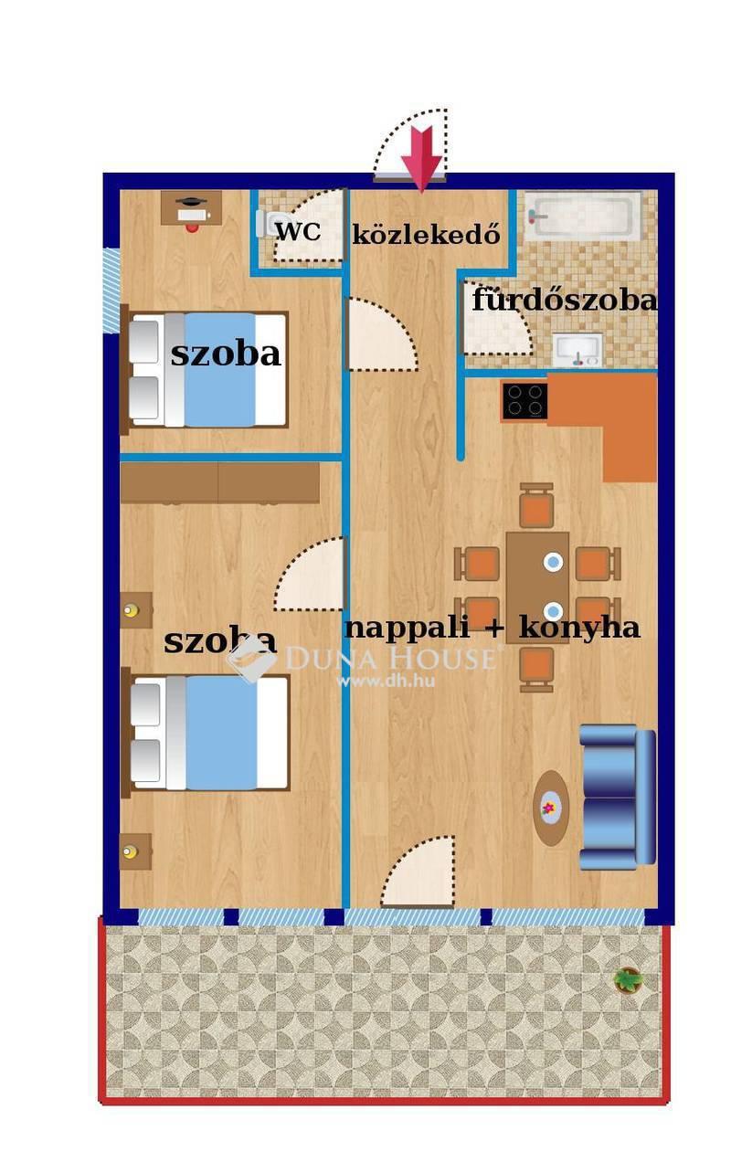 Eladó Lakás, Budapest, 1 kerület, Felújított, nagy teraszos, panorámás csodalakás!