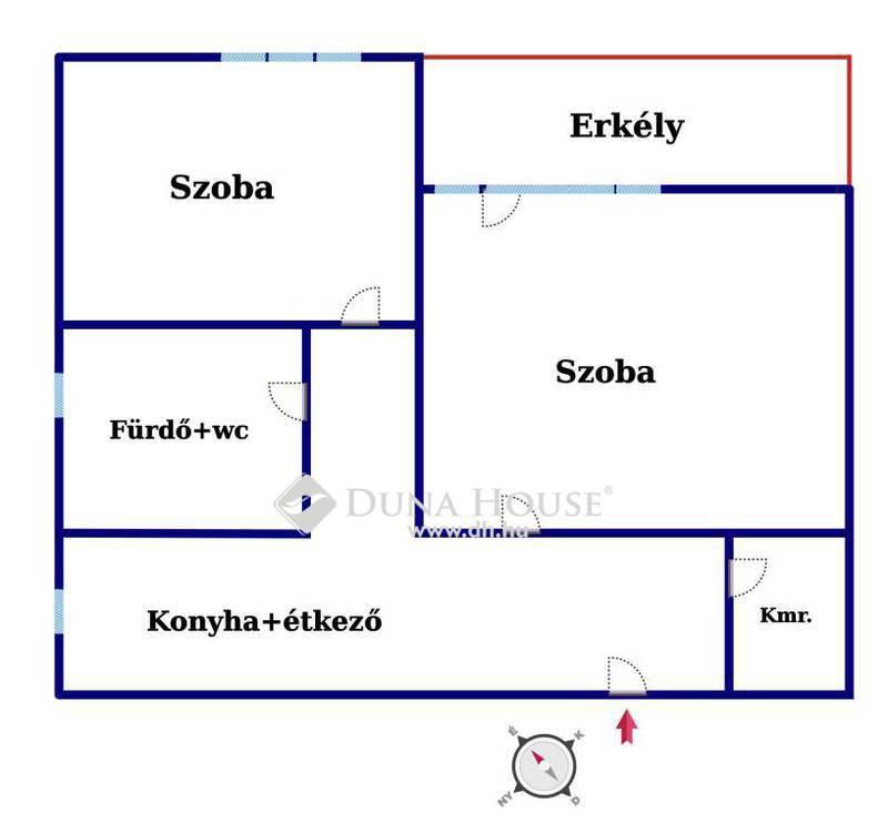 Eladó Lakás, Bács-Kiskun megye, Kecskemét, Azonnal költözhető, erkélyes,2szobás lakás!