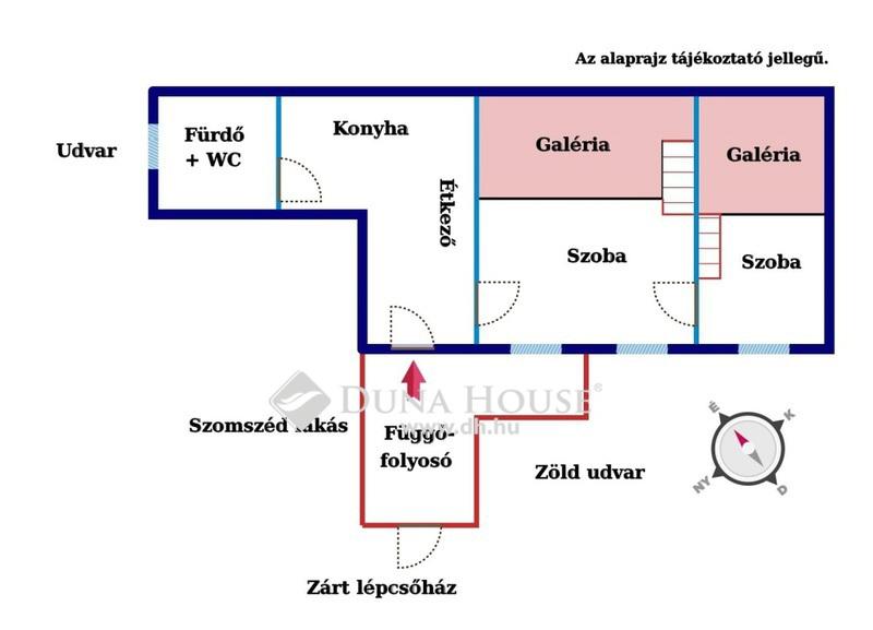 Eladó Lakás, Budapest, 7 kerület, Zöldre néző, csendes, jól alakítható lakás