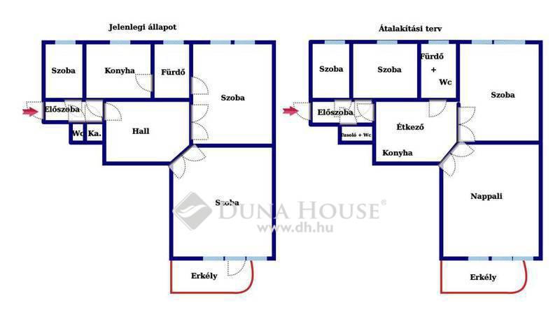 Eladó Lakás, Budapest, 1 kerület, Mária térnél erkélyes emeleti lakás