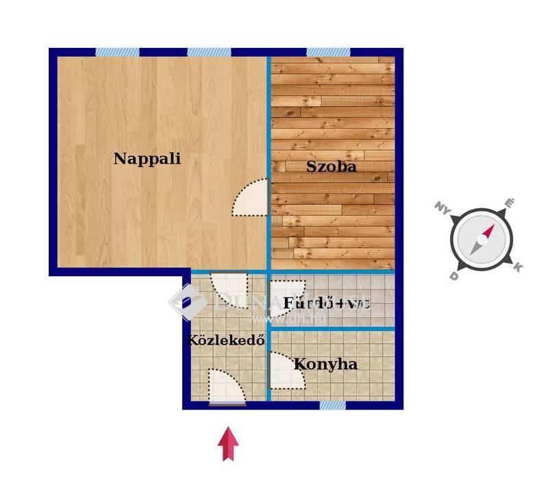 Eladó Lakás, Budapest, 10 kerület, Felújított 44 m2-es lakás