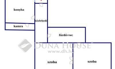 Kiadó Lakás, Budapest, 13 kerület, Pozsonyi úton frissen festett két szobás lakás