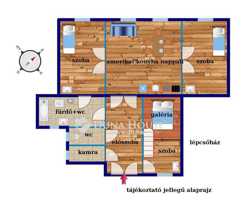 Eladó Lakás, Budapest, 7 kerület, Állatorvosi Egyetem mellett 90 nm, 4 szoba