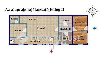 Eladó Ház, Veszprém megye, Borzavár, Fő út