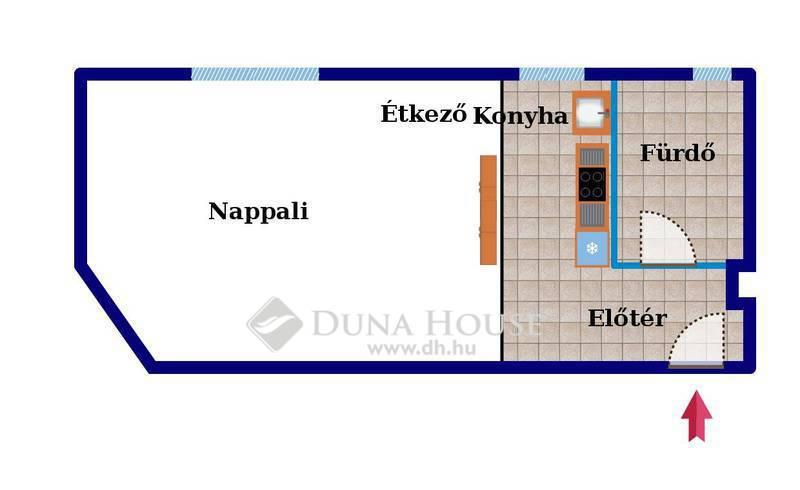 Eladó Lakás, Budapest, 11 kerület, FENEKETLEN TÓ VONZÁSÁBAN, DÁVID FERENC UTCÁRA NÉZŐ