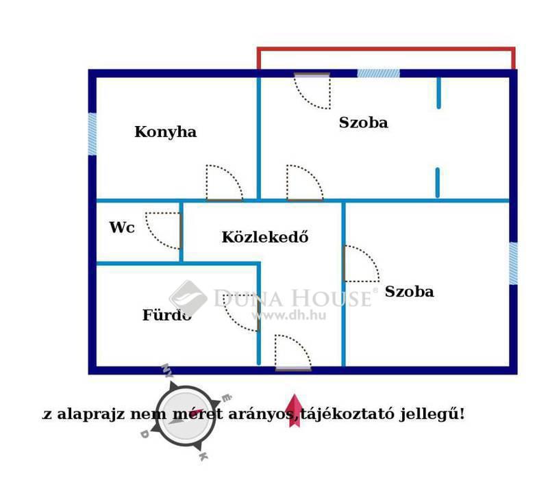 Eladó Lakás, Győr-Moson-Sopron megye, Győr, Erkélyes belvárosi 2 szobás lakás eladó!