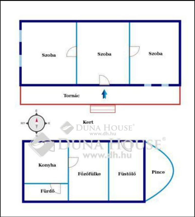 Eladó Ház, Baranya megye, Hosszúhetény, Ormándi utca