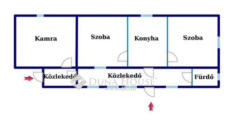 Eladó Ház, Bács-Kiskun megye, Szakmár, Szelidi tó közelében, 2 szobás családi ház