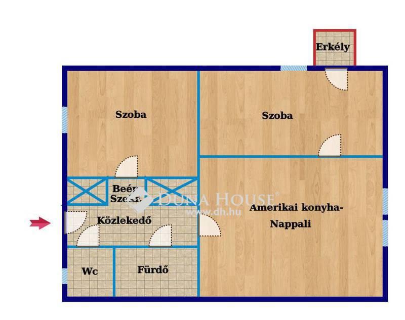 Eladó Lakás, Baranya megye, Pécs, Jókai utcában teljes körűen felújított lakás