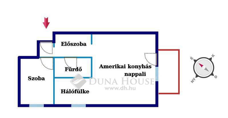 Eladó Lakás, Budapest, 14 kerület, Újszerű, NAPPALI + 2 HÁLÓS, ERKÉLYES lakás