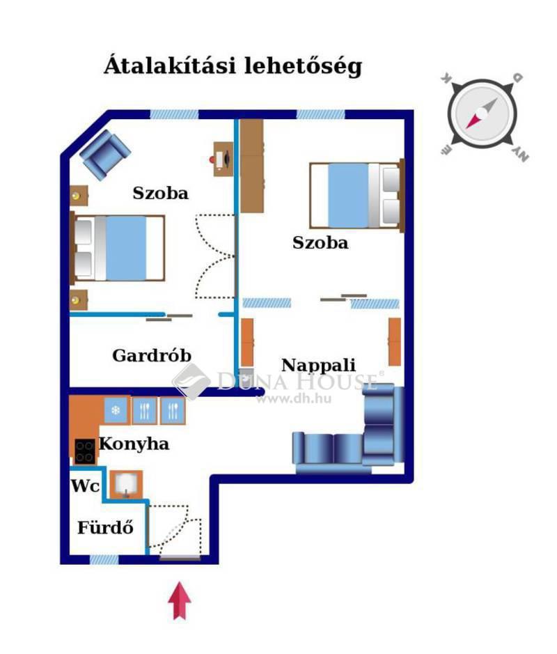 Eladó Lakás, Budapest, 13 kerület, Katona József utca