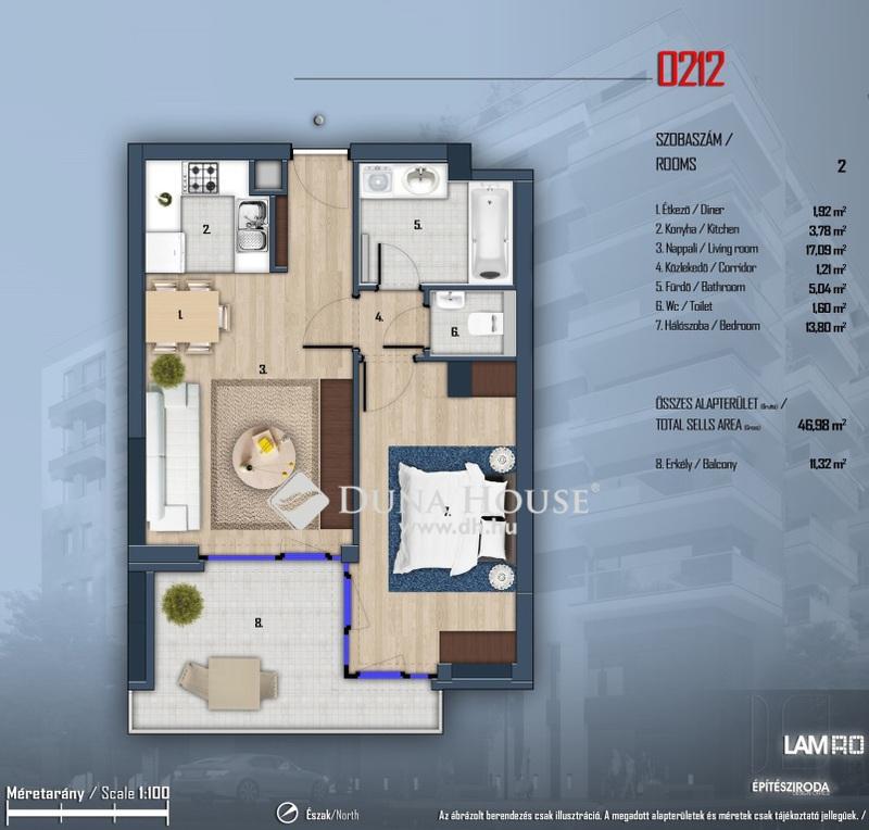 Eladó Lakás, Budapest, 13 kerület, LUXUS MINŐSÉGŰ okos otthonok Angyalföld szívében