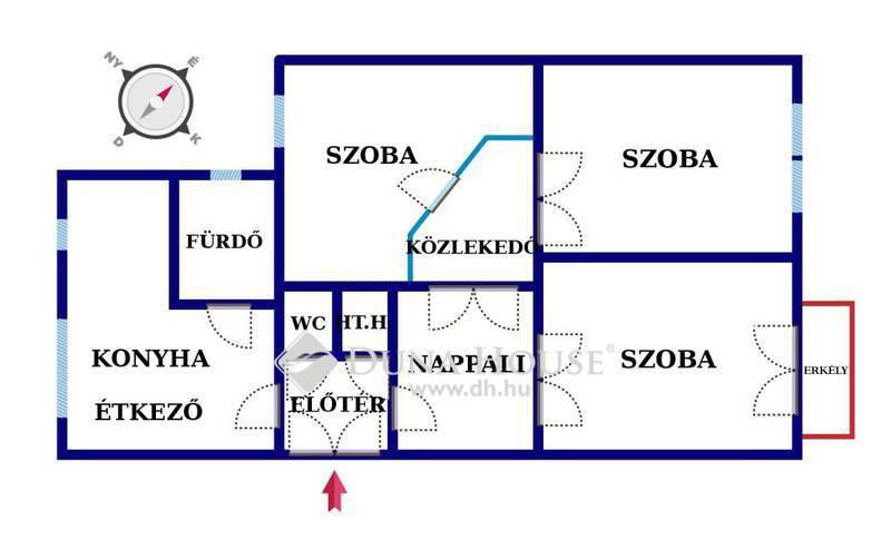 Eladó Lakás, Győr-Moson-Sopron megye, Győr, Belvárosra panorámás lakás