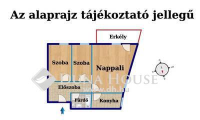 Eladó Lakás, Veszprém megye, Veszprém, Cédrus lakópark, újszerű lakás